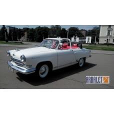 GAZ 21 (Volga) cabriolet (1965 year, 100 km)