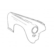 Covered front right assy, refurbished (30-8403012)