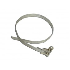 Clamp of a taking away hose of the water pump assy, new old stock (367040-П)